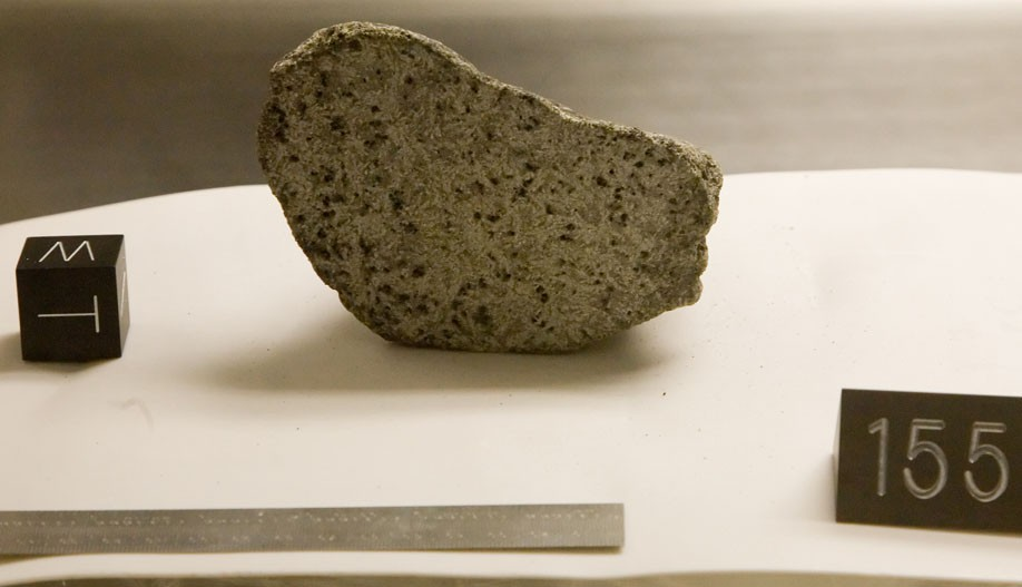 Somoza's moon rocks surface